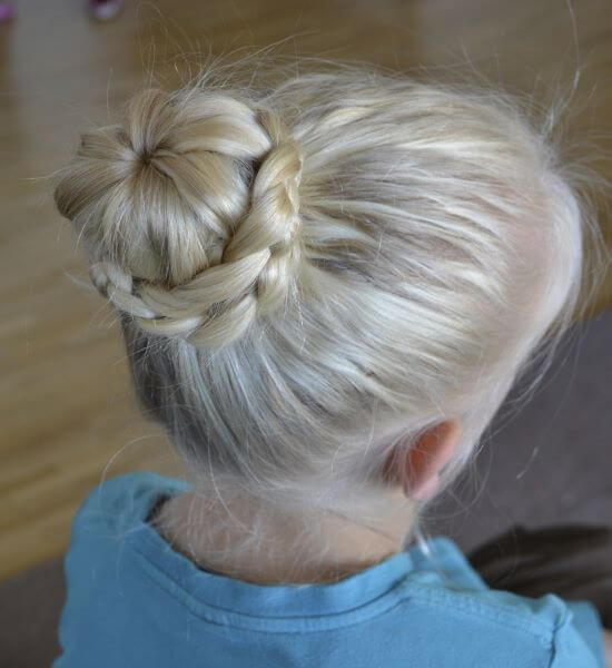 Lace Braided Hair Bun