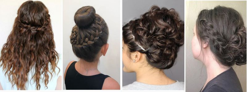 5 Best Easy Hairstyles For School Curly Hair For Girls
