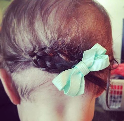 Braided Updo Hairstyle With a Nice Twist