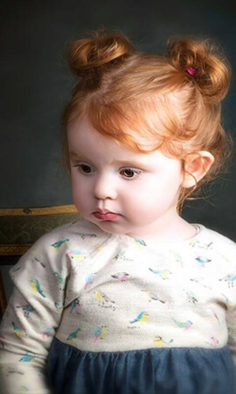 Swirling Pigtails For Redheads