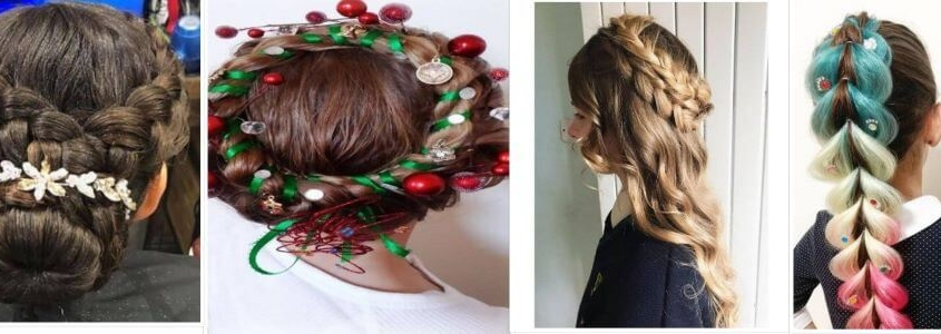 Christmas Hairstyles Easy.Top Easy Christmas Hairstyles For Girls This Holiday Season