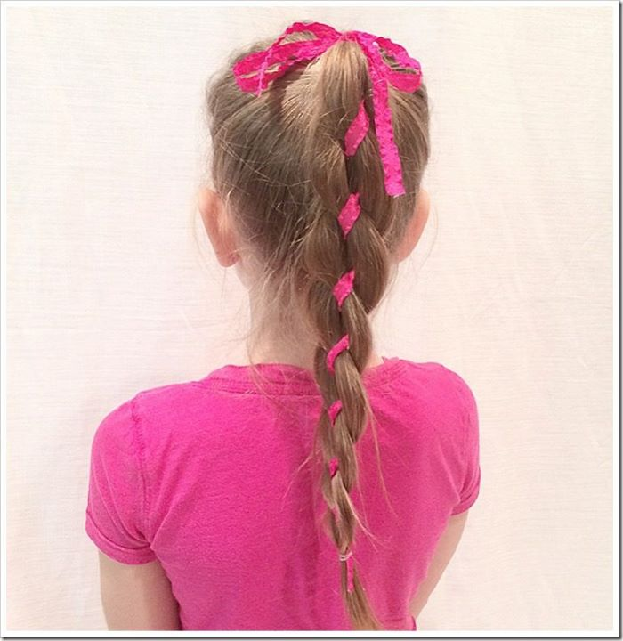 4-Strand Ribbon Braid