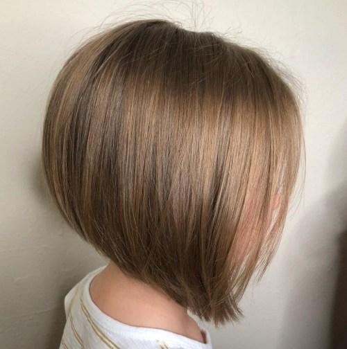 Inverted Bob Haircut For Fine Hair