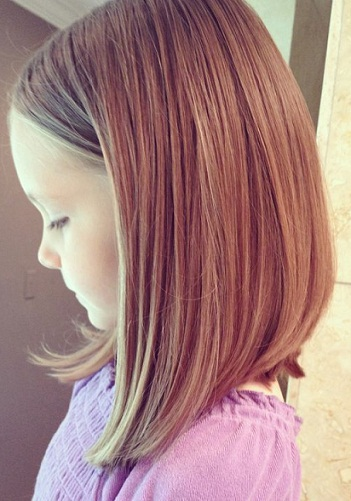 Long Bob With Tucked In Fringe