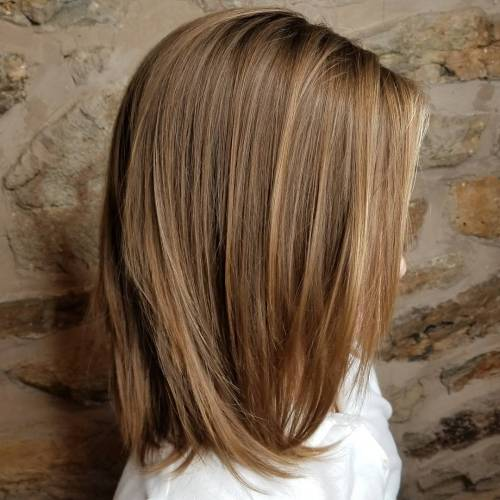 Medium-to-Long Haircut with Light Layers