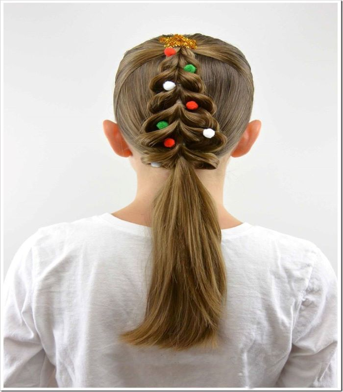 Pull Through Christmas Tree Braid