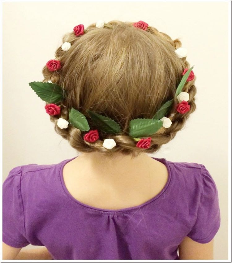 Rope Twist Braided Crown