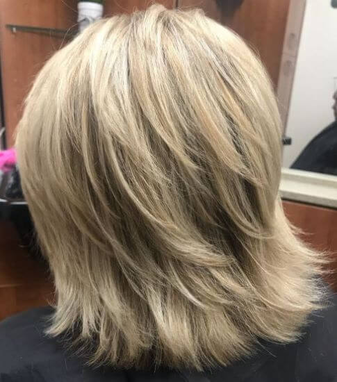 Thick Featured Blonde Bob