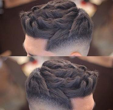 Wavy Texture And High Fade