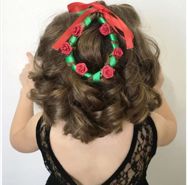 Wreath Hairstyle